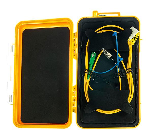 OTDR Launch Cable Box 1 km SC/UPC-SC/UPC