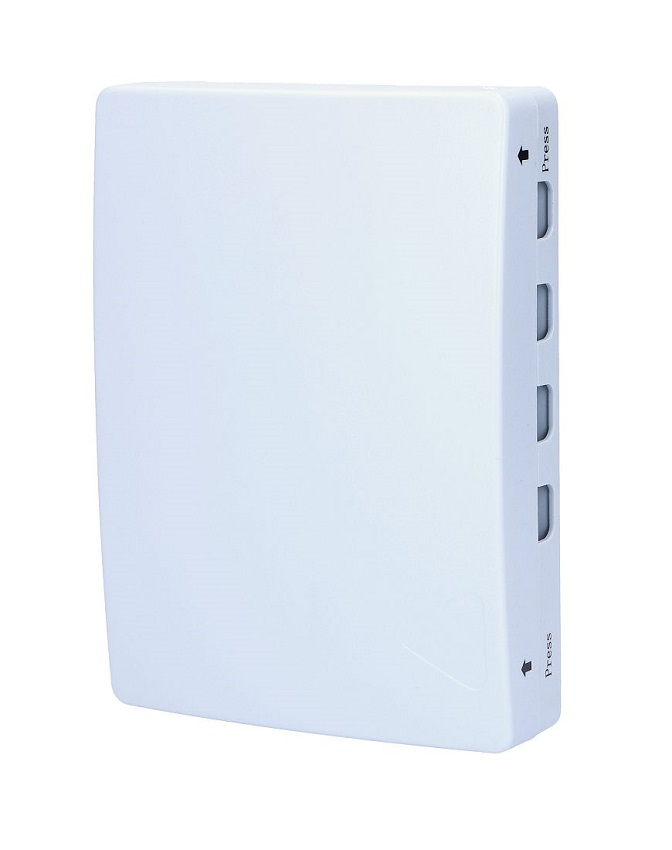 4 Core Fiber Optics Distribution Box