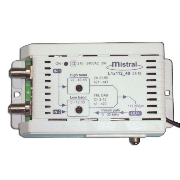 L1x112 Ενισχυτής γραμμής στα 40 dB