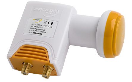 LNB GOLDEN MEDIA TWIN HG 202+