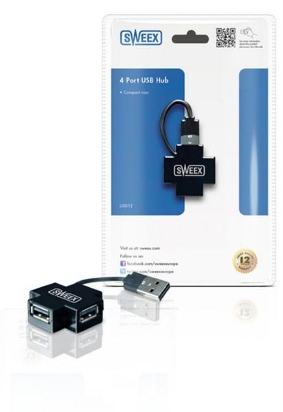 SWEEX 4 USB HUB PORT COMPACT SIZE