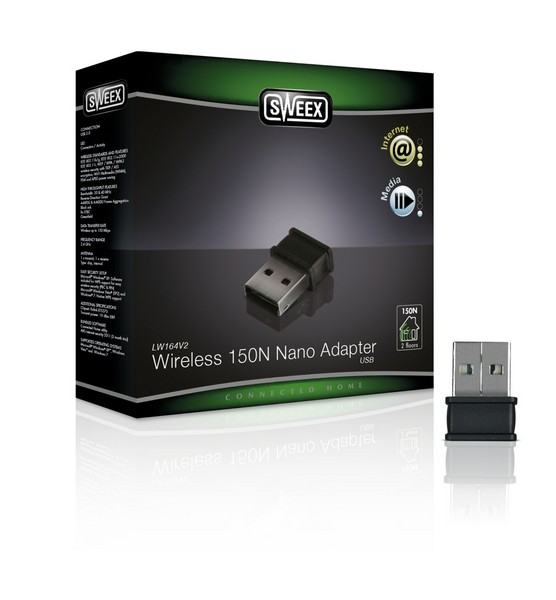 SWEEX WIRELESS 150N NANO ADAPTER USB