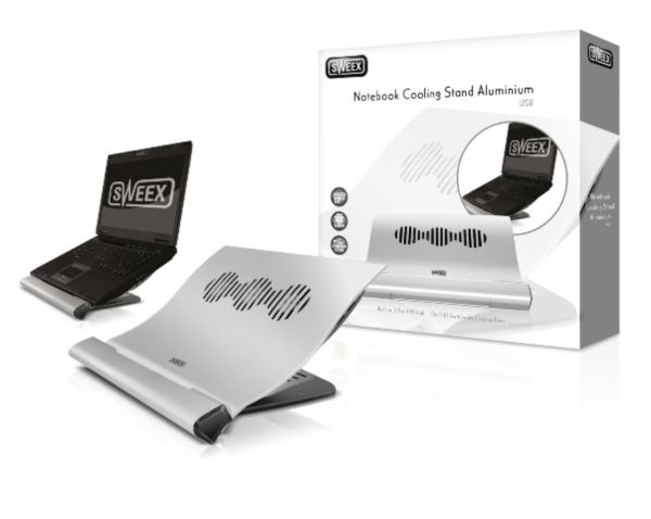 SWEEX  NOTEBOOK ALUMINUM  COOLING STAND USB