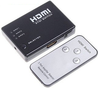 Switch HDMI 3in-1out with remote