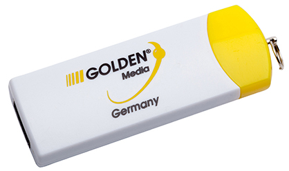 USB STICK 128GB GOLDEN MEDIA V2.0