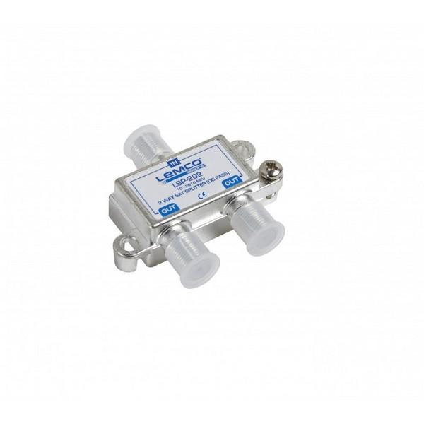 Splitter 1-2 Lemco Sat  (10-2610MHz) /w DC Pass