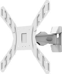 ΒΑΣΗ ΤΟΙΧΟΥ LCD SKYMASTER B 200 Λευκή Elite