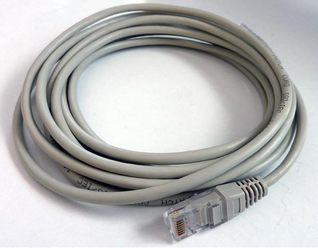 Καλώδιο δικτύου UTP PATCH 5e - 3 μέτρα