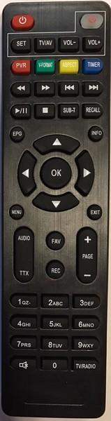 Πολυτηλεχειριστήριο επίγειου δέκτη DigitalBox 550  / 560 / 790