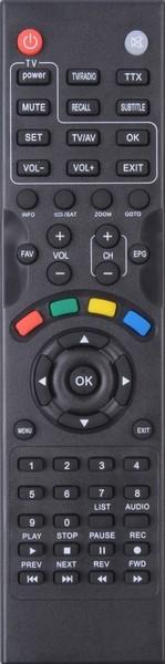 Πολυτηλεχειριστήριο Learning TV δορ. δέκτη DigitalBox 8100 L / LA