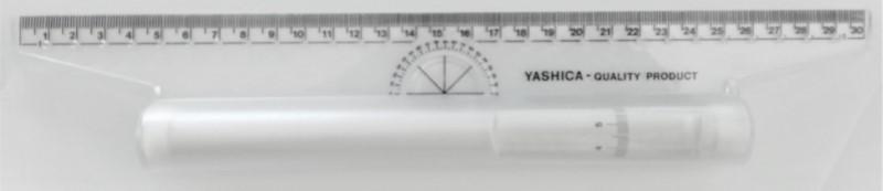 Χάρακας μικρός (22 εκ.) YASHICA