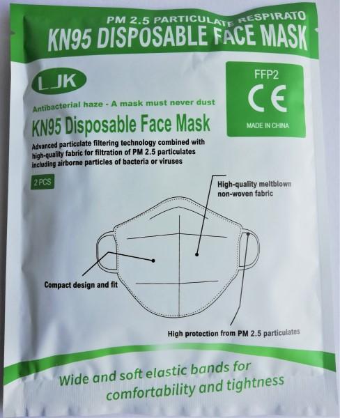 Μάσκα προστασίας Ιατρική KN95 - FFP2