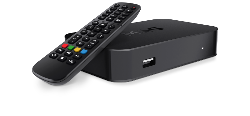 MAG 522w1 Micro IPTV Box
