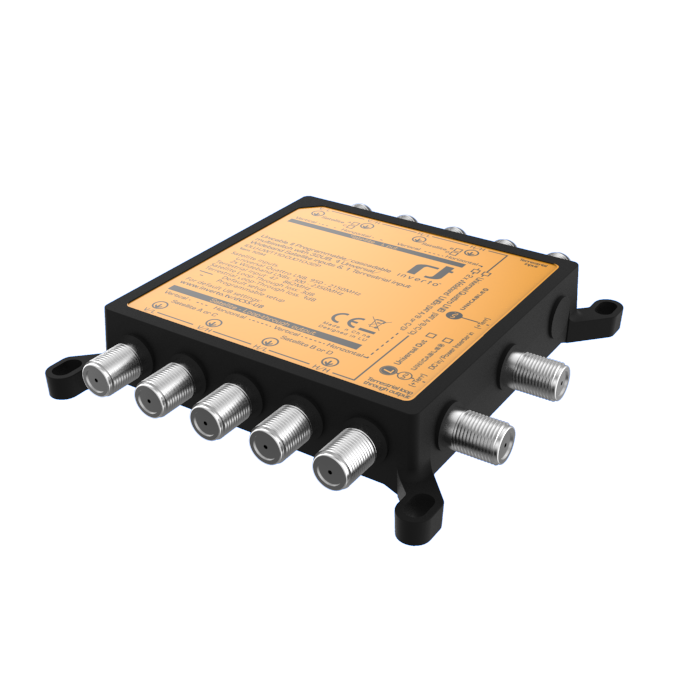Πολυδιακόπτης Inverto Unicable II cascadable 4 universal/wideband 32 user+ter.