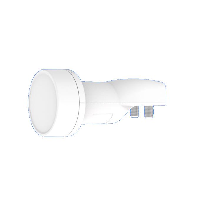 LNB INVERTO PRO WIDEBAND 40mm with horizontal/vertical ports, L.O 10.4Ghz (EU)