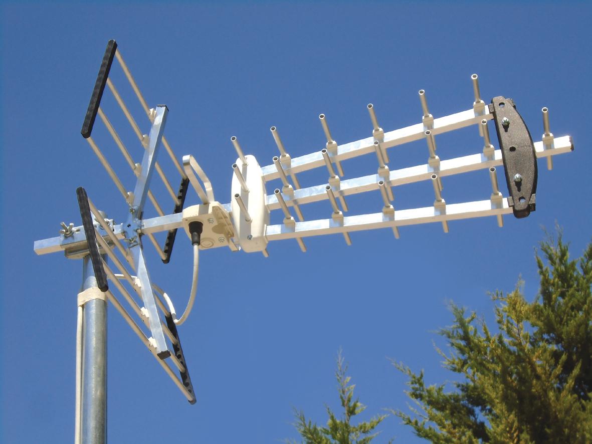 ΚΕΡΑΙΑ MISTRAL UHF YAGI 300 BLACK