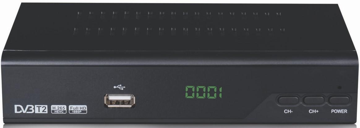 DigitalBox HDT-1000 T2 H.265 με χειριστηριο learning